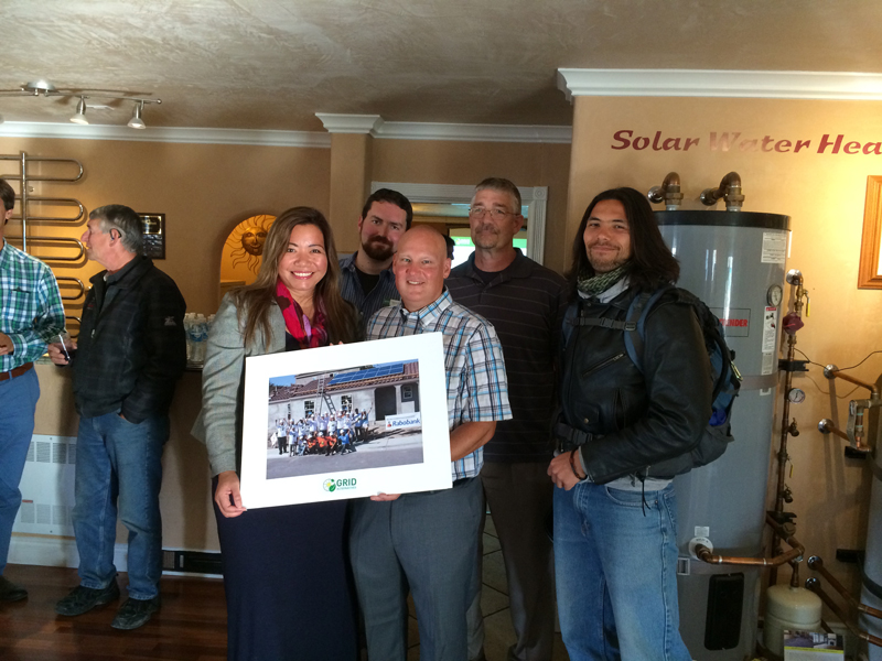 Grid Alternatives visits Solarponics