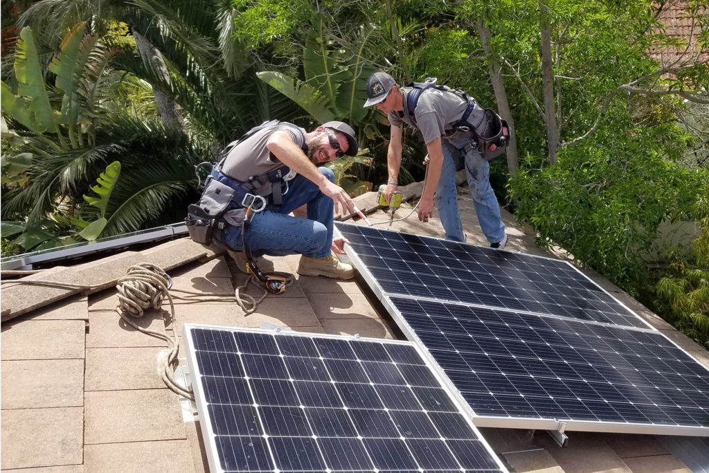 solar-home w cement flat tile rooftop