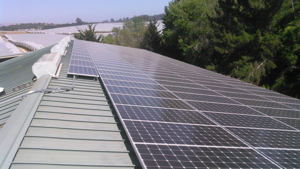 Cypress Ridge solar install