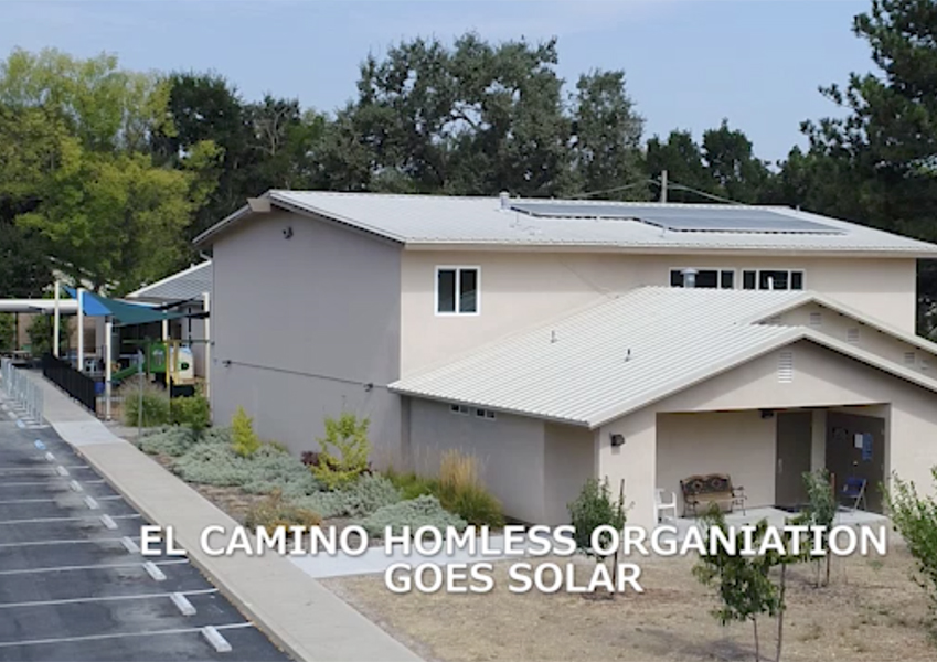 ECHO Homeless Shelter Goes Solar.