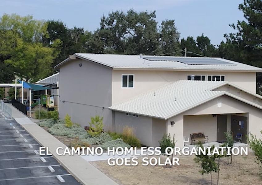 ECHO Homeless Shelter Goes Solar.