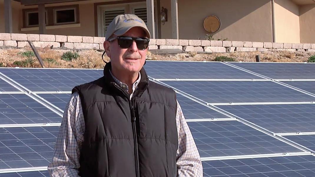 Fred Kerr Solar testimonial