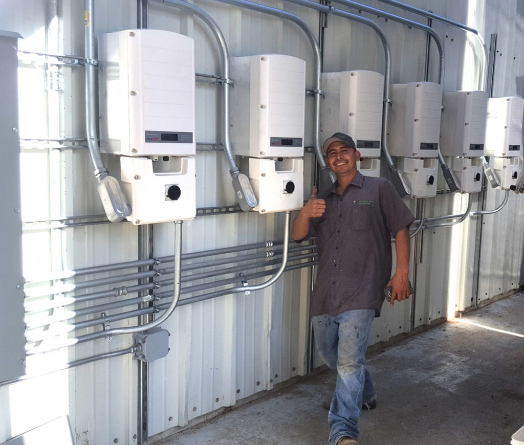 Peachy Canyon solar energy inverters by Solarponics