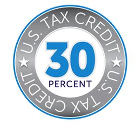 30% federal tax credit logo