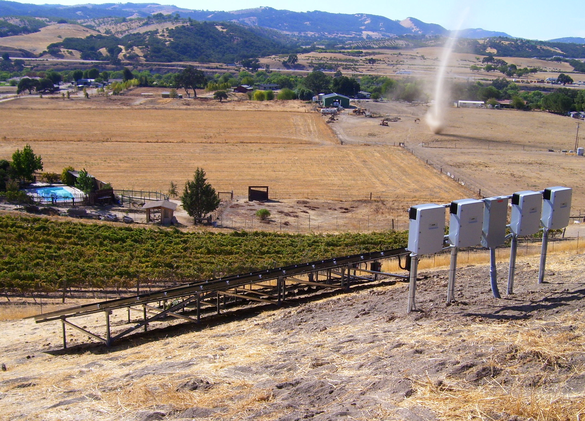 Paso Robles solar energy installation
