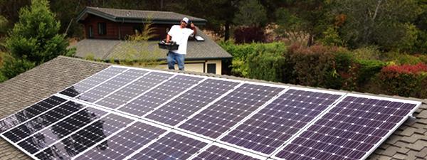 Solarponics solar roof mount