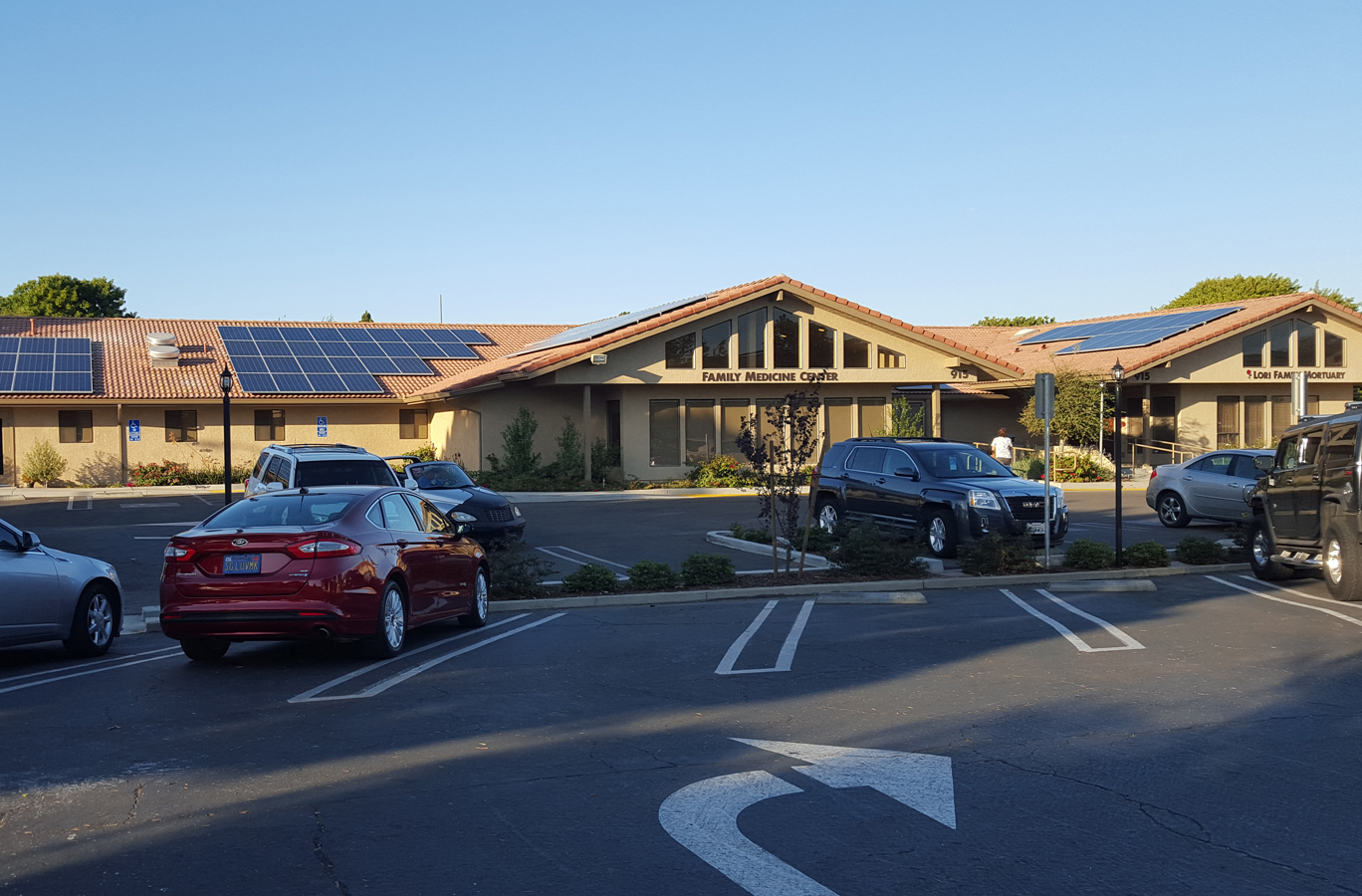 Solar energy for doctor's office