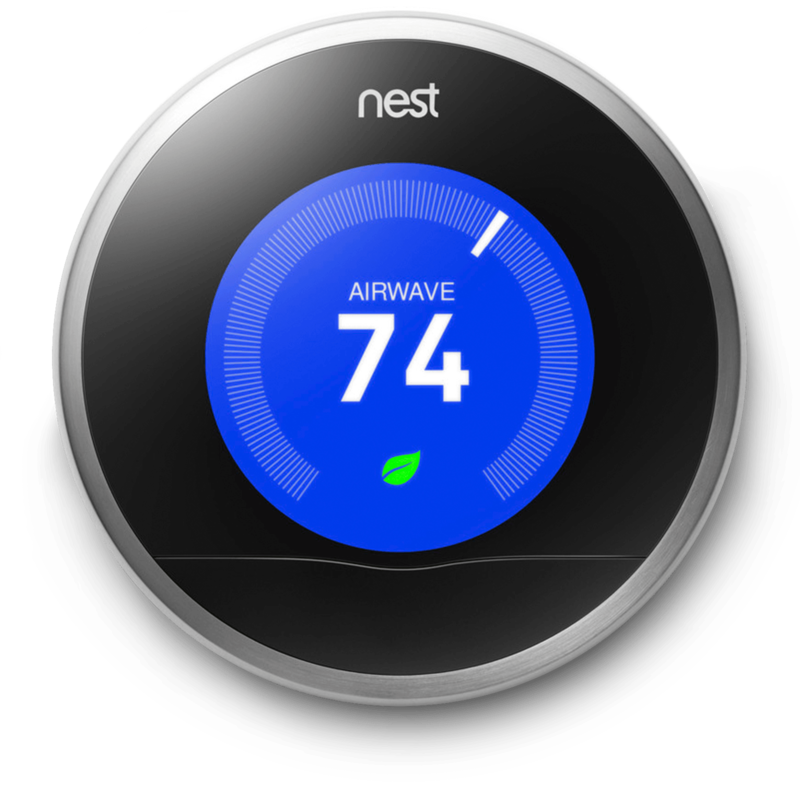 Install a Nest thermostat.