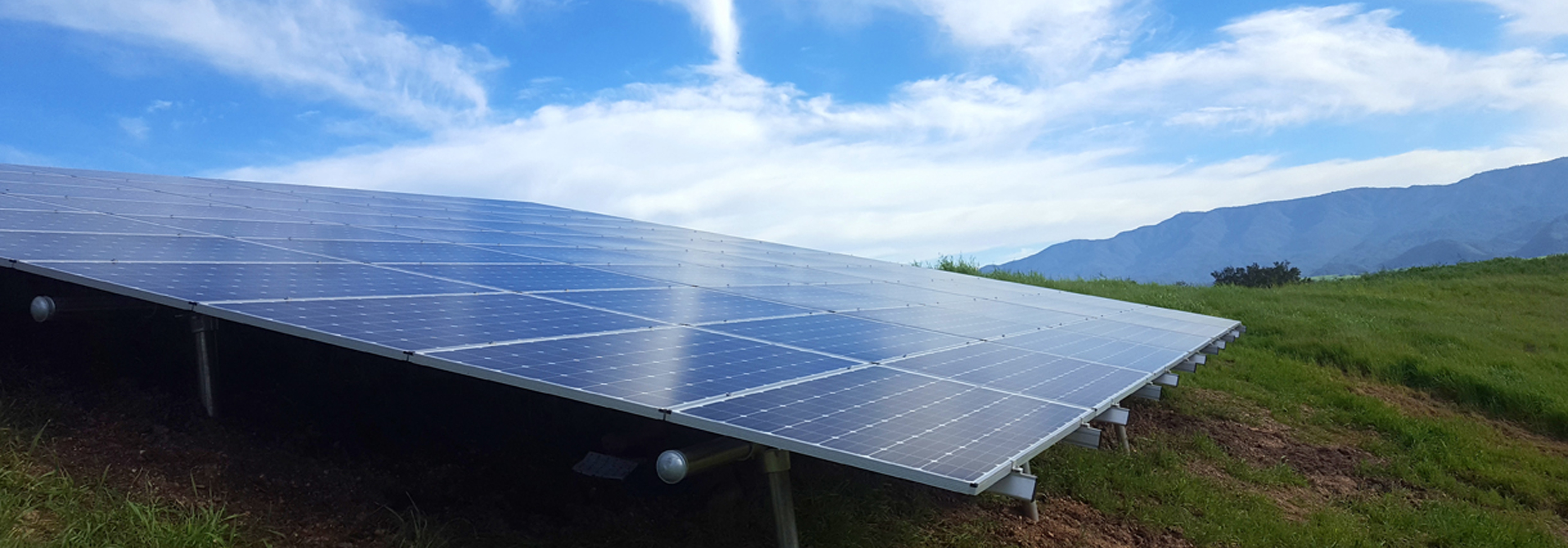 solar ground mount in Nipomo by Solarponics
