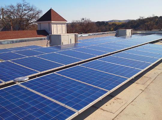 Templeton Church goes solar
