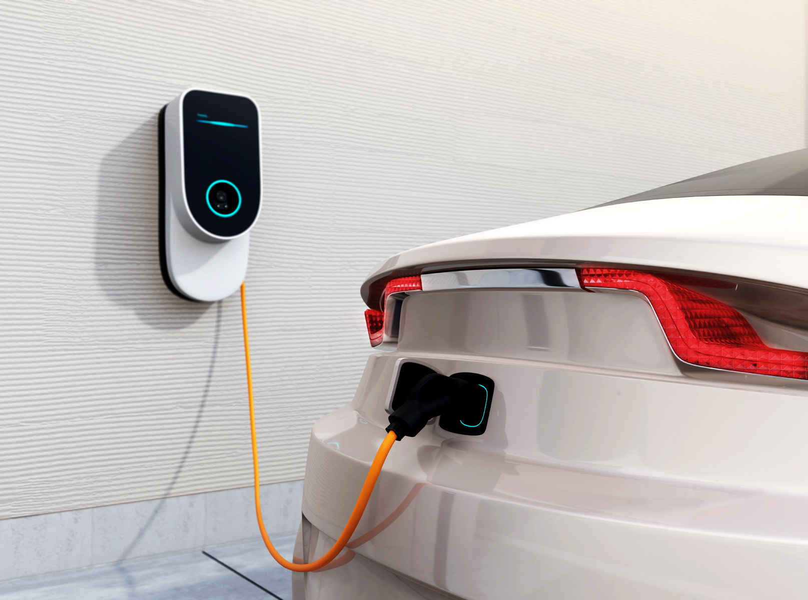 home EV charging station
