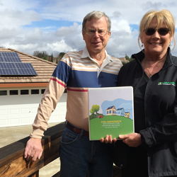 1,000th homeowner to install solar energy.