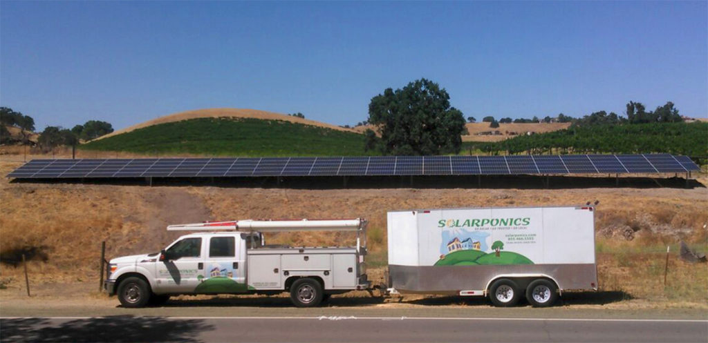 Hugo Winery goes Solar with Solarponics
