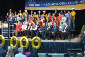 Million Solar Roofs Celebration